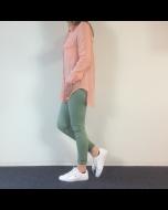 Zalmkleurige blouse