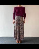 Multicolour lange rok