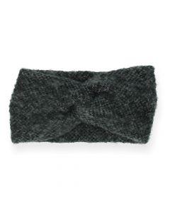 Donkergrijze haarband