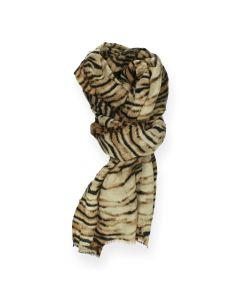 Tijgerprint sjaal