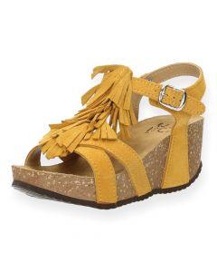 Oker sandalen Tecla