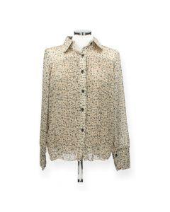 Bloemenprint blouse
