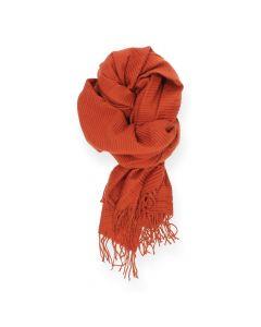 Roestbruine sjaal