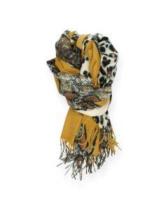 Dierenprint sjaal