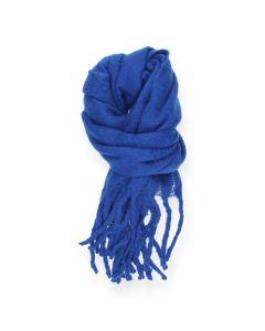 Felblauwe sjaal