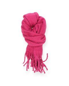 Felroze sjaal