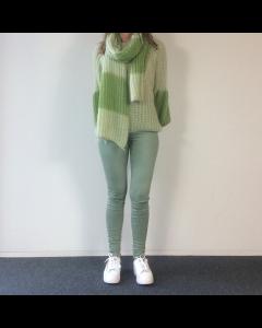 Groene skinny jeans