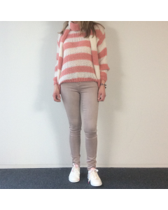Roze skinny jeans