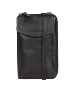 Zwarte Phone Wallet