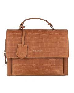Cognac crossbody Citybag