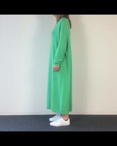 Felgroen kleed