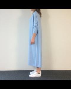 Lichtblauw kleed