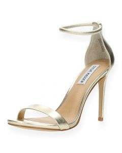 Gouden sandalen met hak Soph