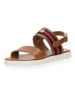 Cognac sandalen Patty