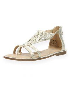 Gouden sandalen Promise