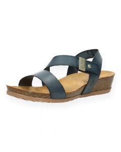 Blauwe sandalen Capri