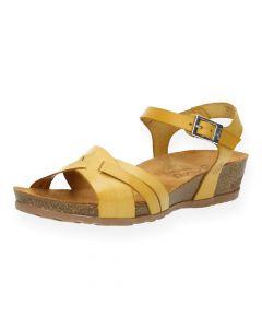 Gele sandalen Capri