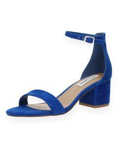 Blauwe sandalen met hak Irenee