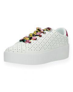Witte sneakers Townser