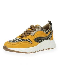 Luipaardprint sneakers