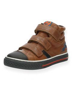 Cognac sneakers Basket 2