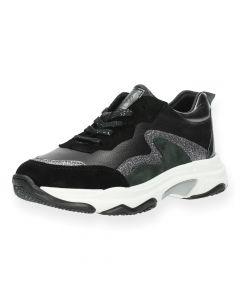 Zwarte sneakers Crocky