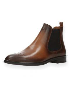 Cognac boots Mia