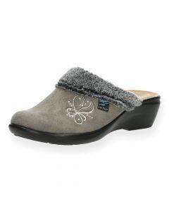 Taupe pantoffels