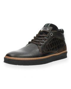 Bruine sneakers Bilbao