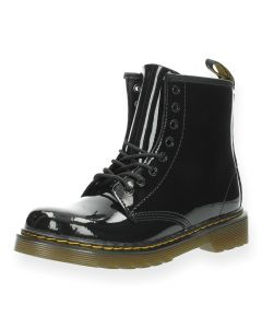 Zwarte bottines Lamper