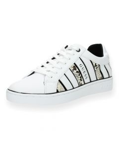 Witte sneakers Bolier
