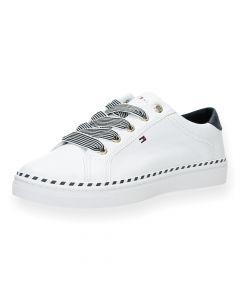 Witte sneakers Nautical