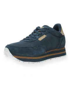 Blauwe sneakers Nora