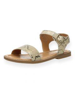 Beige sandalen Fay