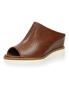 Bruine slippers sleehak