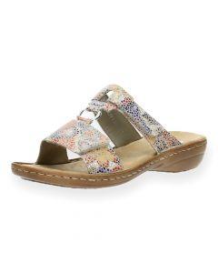 Multicolour slippers