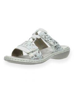 Bloemenprint slippers
