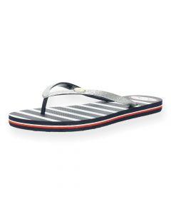 Gestreepte slippers Rake Esme