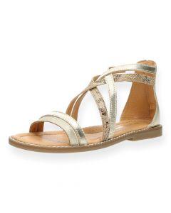Gouden sandalen Fatima
