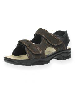 Bruine sandalen