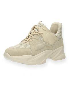 Beige sneakers Movement