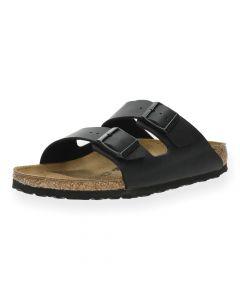 Zwarte slippers Arizona