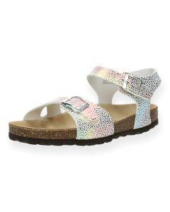 Luipaardprint sandalen Nadia