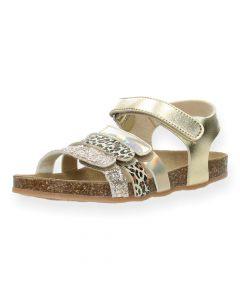 Gouden sandalen Norma