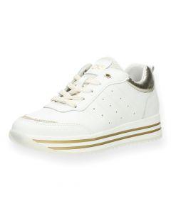 Witte sneakers Cari