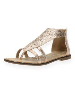 Bronzen sandalen Trixy