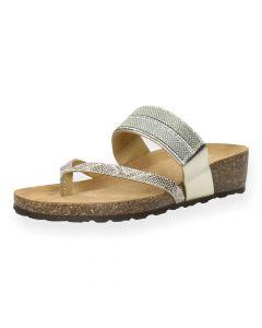 Metallic slippers Texas