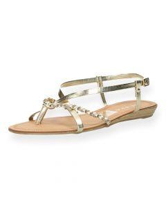 Gouden sandalen Levanzo