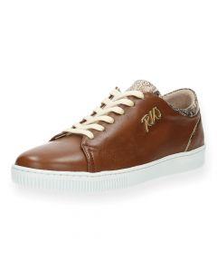Cognac sneakers Ambra