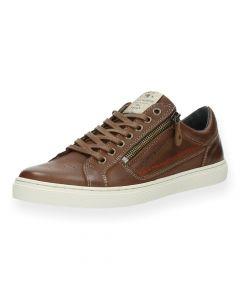Bruine sneakers Boxy